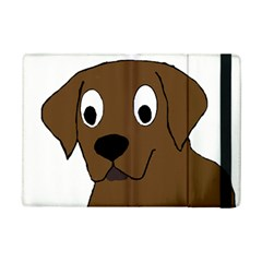 Chocolate Labrador Cartoon iPad Mini 2 Flip Cases