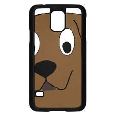 Chocolate Labrador Cartoon Samsung Galaxy S5 Case (Black)