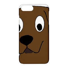 Chocolate Labrador Cartoon Apple iPhone 7 Plus Hardshell Case