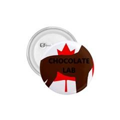 Chocolate Labrador Retriever Name Silo Canadian Flag 1.75  Buttons