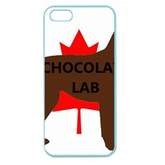 Chocolate Labrador Retriever Name Silo Canadian Flag Apple Seamless iPhone 5 Case (Color)
