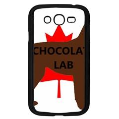 Chocolate Labrador Retriever Name Silo Canadian Flag Samsung Galaxy Grand DUOS I9082 Case (Black)