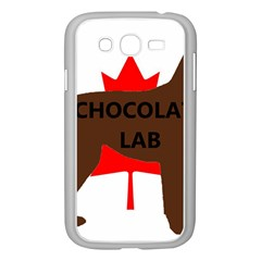 Chocolate Labrador Retriever Name Silo Canadian Flag Samsung Galaxy Grand DUOS I9082 Case (White)