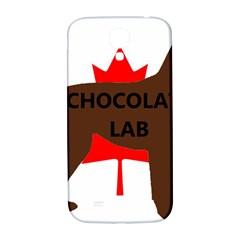 Chocolate Labrador Retriever Name Silo Canadian Flag Samsung Galaxy S4 I9500/I9505  Hardshell Back Case