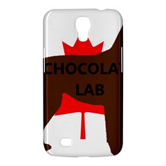 Chocolate Labrador Retriever Name Silo Canadian Flag Samsung Galaxy Mega 6.3  I9200 Hardshell Case