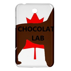 Chocolate Labrador Retriever Name Silo Canadian Flag Samsung Galaxy Tab 3 (7 ) P3200 Hardshell Case