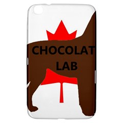 Chocolate Labrador Retriever Name Silo Canadian Flag Samsung Galaxy Tab 3 (8 ) T3100 Hardshell Case