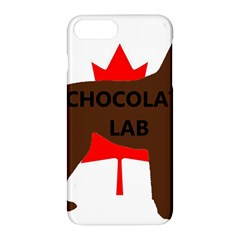 Chocolate Labrador Retriever Name Silo Canadian Flag Apple iPhone 7 Plus Hardshell Case