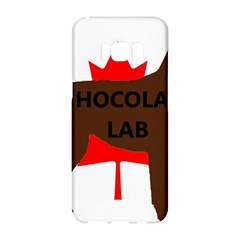 Chocolate Labrador Retriever Name Silo Canadian Flag Samsung Galaxy S8 Hardshell Case