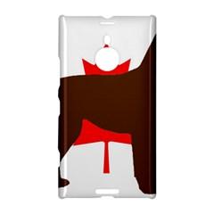 Chocolate Labrador Retriever Silo Canadian Flag Nokia Lumia 1520