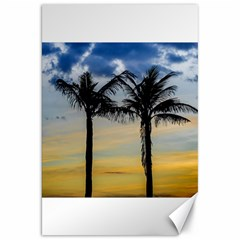 Palm Trees Against Sunset Sky Canvas 20  X 30