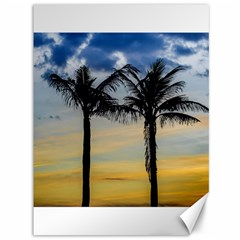 Palm Trees Against Sunset Sky Canvas 36  x 48