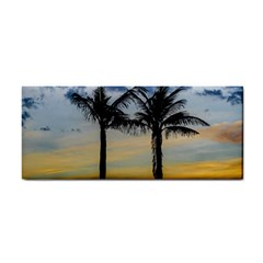 Palm Trees Against Sunset Sky Cosmetic Storage Cases