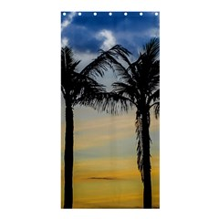 Palm Trees Against Sunset Sky Shower Curtain 36  x 72  (Stall)