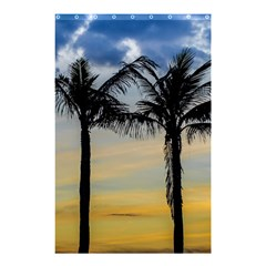 Palm Trees Against Sunset Sky Shower Curtain 48  x 72  (Small)