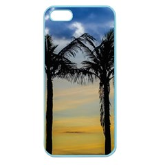 Palm Trees Against Sunset Sky Apple Seamless iPhone 5 Case (Color)