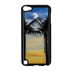 Palm Trees Against Sunset Sky Apple iPod Touch 5 Case (Black)