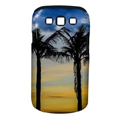 Palm Trees Against Sunset Sky Samsung Galaxy S III Classic Hardshell Case (PC+Silicone)