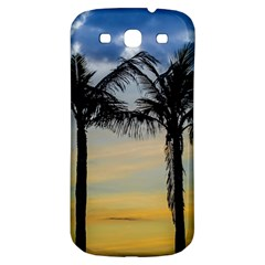 Palm Trees Against Sunset Sky Samsung Galaxy S3 S III Classic Hardshell Back Case