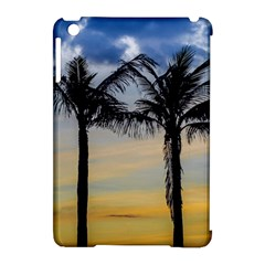 Palm Trees Against Sunset Sky Apple iPad Mini Hardshell Case (Compatible with Smart Cover)