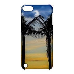 Palm Trees Against Sunset Sky Apple iPod Touch 5 Hardshell Case with Stand