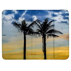 Palm Trees Against Sunset Sky Samsung Galaxy Tab 7  P1000 Flip Case