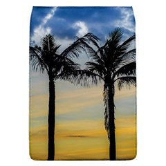 Palm Trees Against Sunset Sky Flap Covers (L)