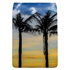 Palm Trees Against Sunset Sky Flap Covers (S)