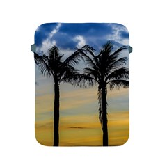 Palm Trees Against Sunset Sky Apple iPad 2/3/4 Protective Soft Cases
