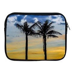 Palm Trees Against Sunset Sky Apple iPad 2/3/4 Zipper Cases