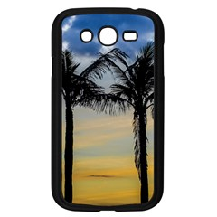 Palm Trees Against Sunset Sky Samsung Galaxy Grand DUOS I9082 Case (Black)