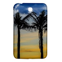 Palm Trees Against Sunset Sky Samsung Galaxy Tab 3 (7 ) P3200 Hardshell Case