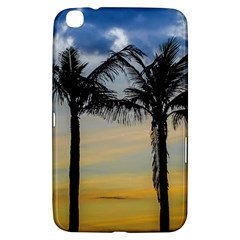 Palm Trees Against Sunset Sky Samsung Galaxy Tab 3 (8 ) T3100 Hardshell Case
