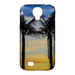 Palm Trees Against Sunset Sky Samsung Galaxy S4 Classic Hardshell Case (PC+Silicone)