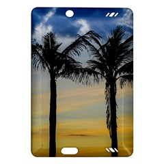 Palm Trees Against Sunset Sky Amazon Kindle Fire HD (2013) Hardshell Case
