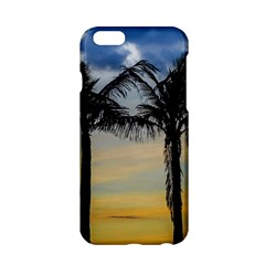 Palm Trees Against Sunset Sky Apple iPhone 6/6S Hardshell Case