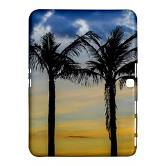Palm Trees Against Sunset Sky Samsung Galaxy Tab 4 (10.1 ) Hardshell Case