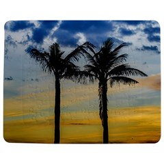 Palm Trees Against Sunset Sky Jigsaw Puzzle Photo Stand (Rectangular)
