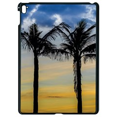 Palm Trees Against Sunset Sky Apple iPad Pro 9.7   Black Seamless Case
