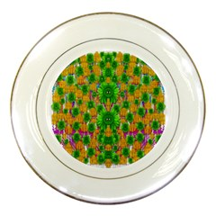 Jungle Love In Fantasy Landscape Of Freedom Peace Porcelain Plates