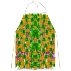Jungle Love In Fantasy Landscape Of Freedom Peace Full Print Aprons