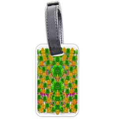 Jungle Love In Fantasy Landscape Of Freedom Peace Luggage Tags (One Side)