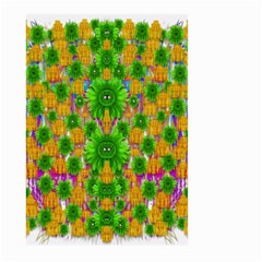 Jungle Love In Fantasy Landscape Of Freedom Peace Large Garden Flag (Two Sides)