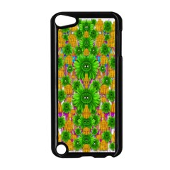 Jungle Love In Fantasy Landscape Of Freedom Peace Apple Ipod Touch 5 Case (black)
