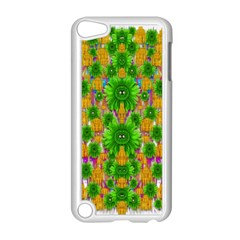 Jungle Love In Fantasy Landscape Of Freedom Peace Apple iPod Touch 5 Case (White)