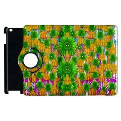 Jungle Love In Fantasy Landscape Of Freedom Peace Apple iPad 2 Flip 360 Case