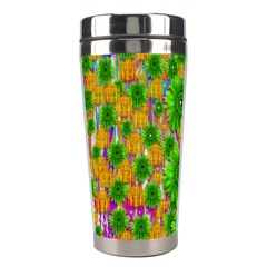 Jungle Love In Fantasy Landscape Of Freedom Peace Stainless Steel Travel Tumblers