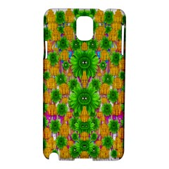 Jungle Love In Fantasy Landscape Of Freedom Peace Samsung Galaxy Note 3 N9005 Hardshell Case
