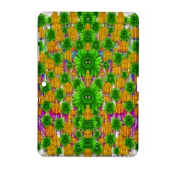 Jungle Love In Fantasy Landscape Of Freedom Peace Samsung Galaxy Tab 2 (10.1 ) P5100 Hardshell Case