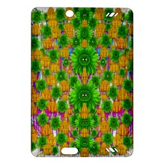 Jungle Love In Fantasy Landscape Of Freedom Peace Amazon Kindle Fire HD (2013) Hardshell Case